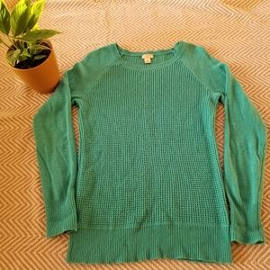 J. Crew Textured Long Sleeve Sweater Size Small